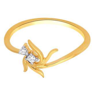 Sangini Real Diamond Gold Ring By Gitanjali (Design 2)