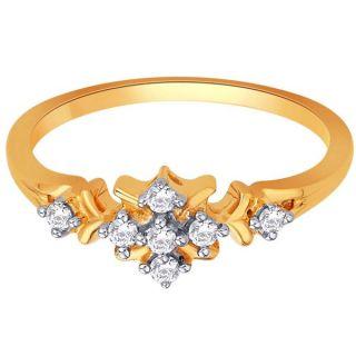 Sangini Real Diamond Gold Ring By Gitanjali (Design 32)