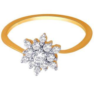 Sangini Real Diamond Gold Ring By Gitanjali (Design 39)