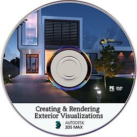 Creating And Rendering Exterior Visualizations in 3ds Max Video Tutorial DVD