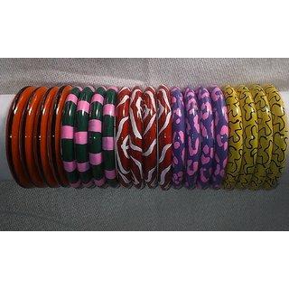 Wooden Bangle Multicolor
