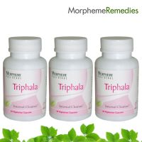 Morpheme Triphala Supplements For Colon Cleansing - 500Mg Extract - 3 Combo Pack