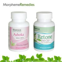 Morpheme Combo Supplements For Regular Menstrual Cycle, Yellow Discharge