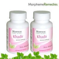 Morpheme Khadir Supplements For Skin Care & Blood Purifier - 500Mg Extract