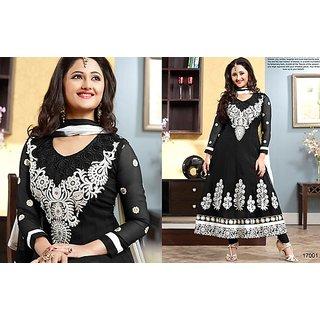 Black Designer Party Wear Salwar Kameez