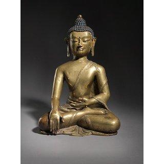 Lord Bhuddha Brass Statue