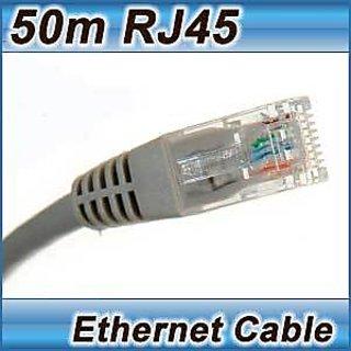 at6 cat 6 lan network lead rj45 connector 50m ethernet. Black Bedroom Furniture Sets. Home Design Ideas