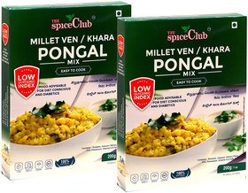 The Spice Club Millet Ven Pongal 200 grams (pack of 2)
