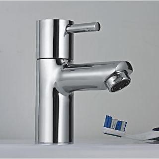 Dooa Deck Mounted Basin Faucet (Pillar Cock) (Low Neck) Attic