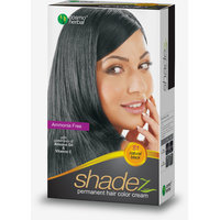 Shadez Permanent Hair Color Cream, Natural Black