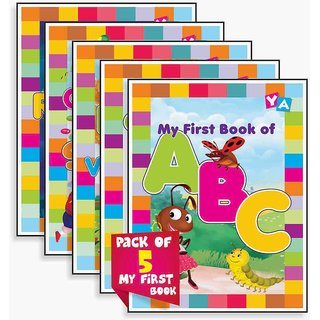Pack of 5 My First Book