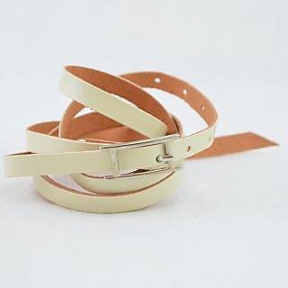 Creamy Twisted Wrist Belt (AFBRCTW)