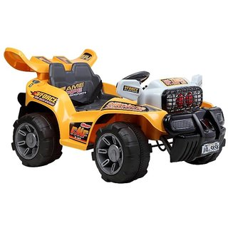 Toysezone Battery Operated Cross Country Jeep