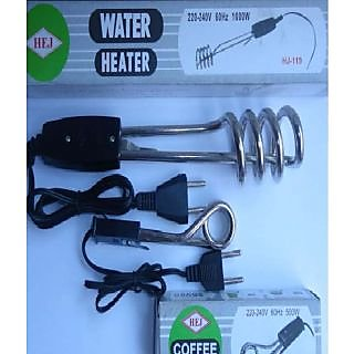 Combo Of  Electric Immersion Water Heater And Coffee Heater