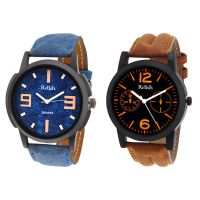 Relish Analog Round Casual Wear Watches Combo for Mens RELISH-1050C