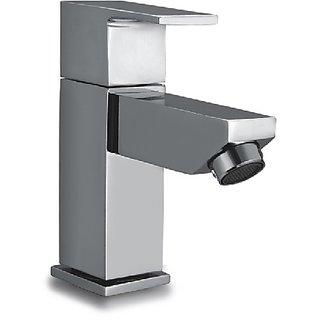 Dooa Deck Mounted Basin Faucet (Pillar Cock) (Low Neck) Razor