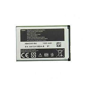 Samsung AB463651BU E7  For S3650 S3370 S7070 L700 F400 Battery