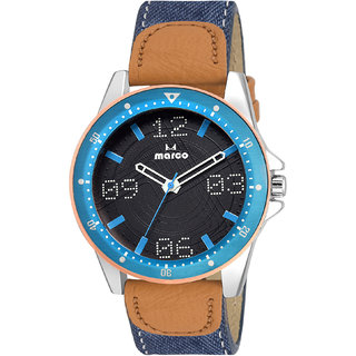 Marco Brown Analog Quartz Watches For Men