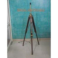 "Designers Marine Aluminum Tripod Stand Big Floor Lamp Stand Big Tripod Decor 60"""