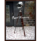 Retro-Design-Vintage-style-searchlight-Spotlight-Telescopic-Tripod-Floor-lamp