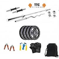 Ttc Fitness Cast Iron Home Gym Combo 10