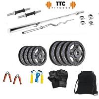 Ttc Fitness Cast Iron Home Gym Combo 20