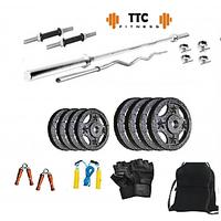 Ttc Fitness Cast Iron Home Gym Combo 30