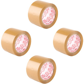 Vima Brown Tapes 3in 72mm 65mtr (Pack of 4)