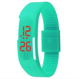 LED watch fo0r boys/girls/Kids Mint blue  by Insta Dea by k