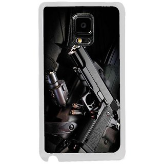 Fuson Designer Phone Back Case Cover Samsung Galaxy Note Edge ( Ready For Action With Guns )