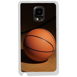 Fuson Designer Phone Back Case Cover Samsung Galaxy Note Edge ( The Basketball Waits With Pride )