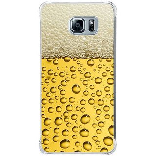 Fuson Designer Phone Back Case Cover Samsung Galaxy Note 5 ( Bubbles And Foam In Drinks )
