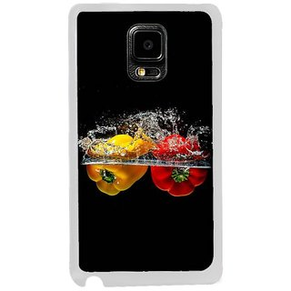 Fuson Designer Phone Back Case Cover Samsung Galaxy Note Edge ( Capsicums In The Water )