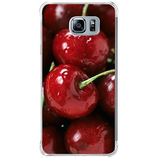 Fuson Designer Phone Back Case Cover Samsung Galaxy Note 5 ( Freshly Picked Red Cherries )