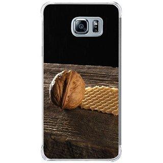 Fuson Designer Phone Back Case Cover Samsung Galaxy Note 5 ( Single Walnut On Display )