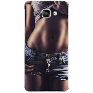 Fuson Designer Phone Back Case Cover Samsung Galaxy On7 Pro ( Toning Down The Body )