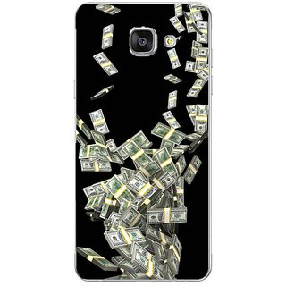 Fuson Designer Phone Back Case Cover Samsung Galaxy On7 Pro ( Spiral Fall Of Currency Notes )