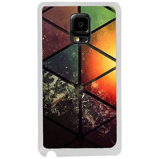 Fuson Designer Phone Back Case Cover Samsung Galaxy Note Edge ( Vividly Painted Glass )