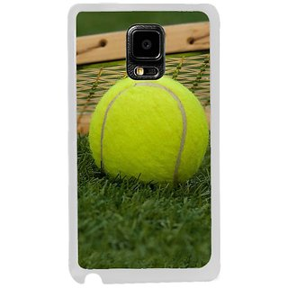 Fuson Designer Phone Back Case Cover Samsung Galaxy Note Edge ( Tennis Is Passion )