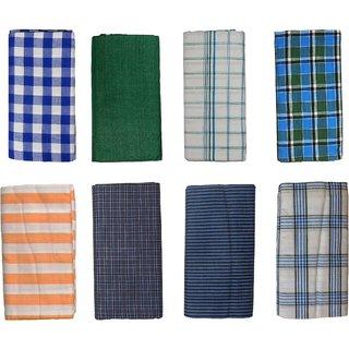 Bhagalpuri Men Lungi Assorted Pack of 3