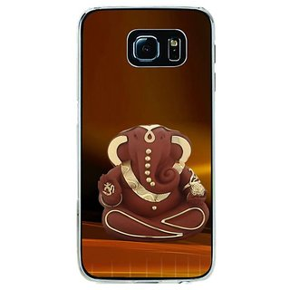 Fuson Designer Phone Back Case Cover Samsung Galaxy S6 ( Small Idol Of Lord Ganesha )