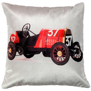 Valtellina traditional jeep printed cushion cover VLCU-044