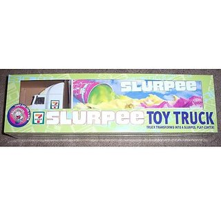 7 Eleven Slurpee 15&Quot; Collectible Tractor Trailer Transforms Into A Slurpee 711 Play Center
