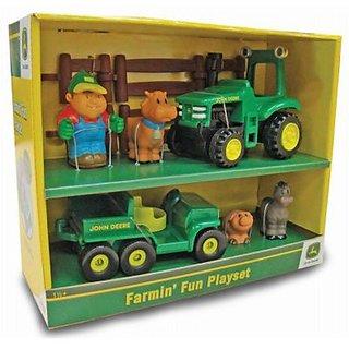 Tomy Ertl John Deere Farmin Fun Playset