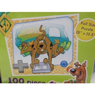 Scooby-Doo! 100 Piece Puzzle - Scooby-Doo Playing Video Game