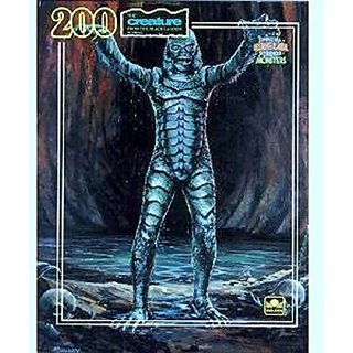 Universal Studios Monster Puzzle Creature From The Black Lagoon