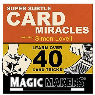 Magic Makers Super Subtle Card Miracles DVD