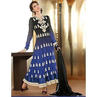 Women's Georgette Stitched Anarkali Suit