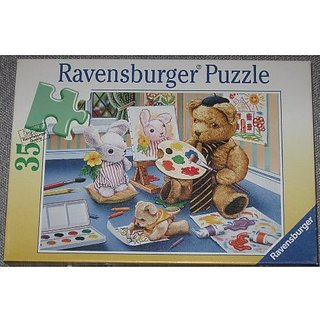 Teddy The Painter Puzzle