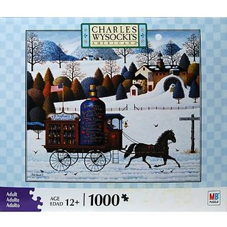 Charles Wysockis Americana 1000-Piece Jigsaw Puzzle - Promises, Promises